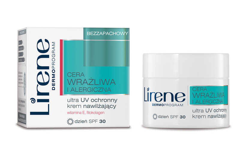 Lirene Dermoprogram Ultra UV ochronny krem nawil_aj_cy